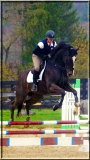 Armani and Lee at West Milford Equestrian Center, New Jersey