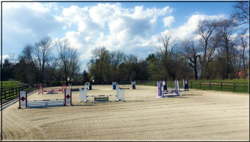 Outdoor Jumping Arena