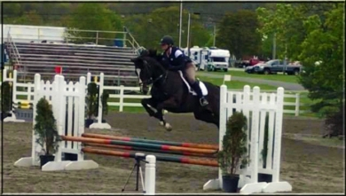 Armani and Lee at the Garden State Preview Horse Show, April 30, 2017.