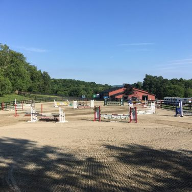 Barn and Outdoor Arena