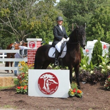 Eagle and Lee at Sussex County Horse Show!